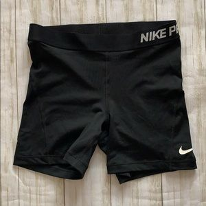 Nike dri fit bike shorts